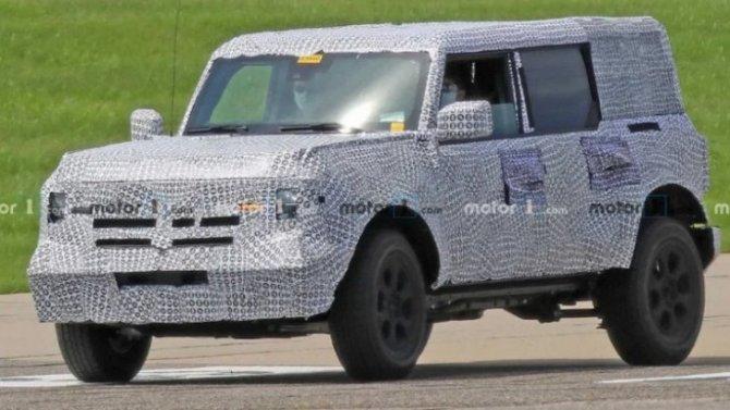 Где «гоняли» новый Ford Bronco