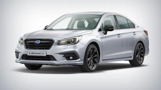 Subaru Legacy прощается с Россией