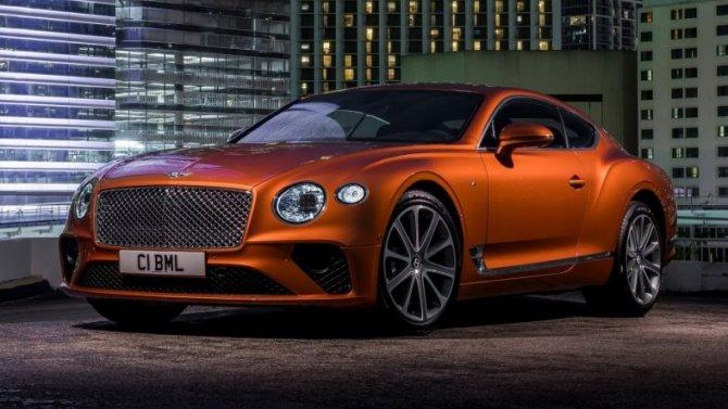 Купе Bentley ContinentalGT стало «кинозвездой»