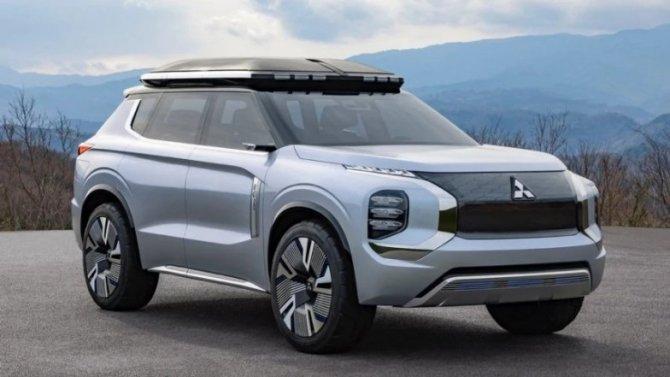 Новый Mitsubishi Outlander: догадки подтвердились
