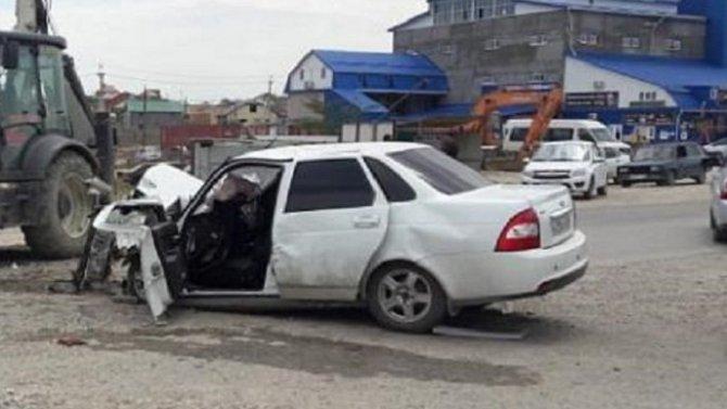 В ДТП в Хасавюрте погиб человек