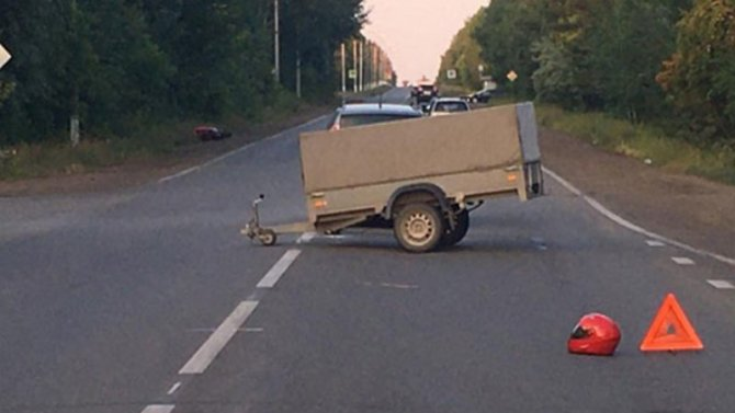 Молодой мотоциклист погиб в ДТП в Магнитогорске