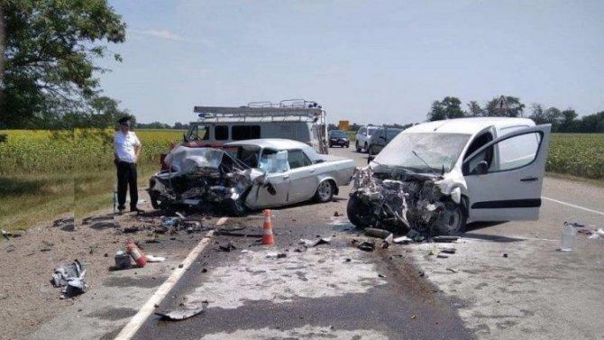 На Кубани в ДТП погиб пожилой водитель