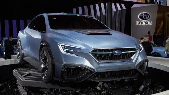 Subaru WRX STI получит новый двигатель