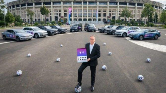 Российский футбольный союз получил новые автомобили