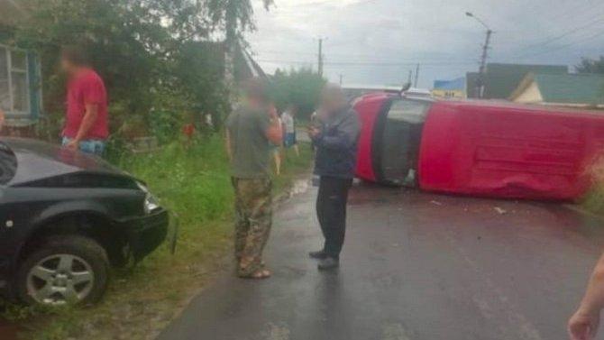 2-летняя девочка серьезно пострадала в ДТП в Клинцах