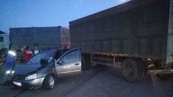 Пожилой водитель погиб в ДТП в Воронежской области