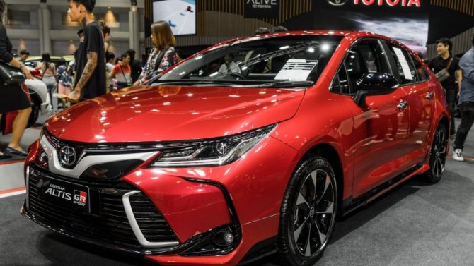Российские версии автомобилей Toyota получат спортивные модификации