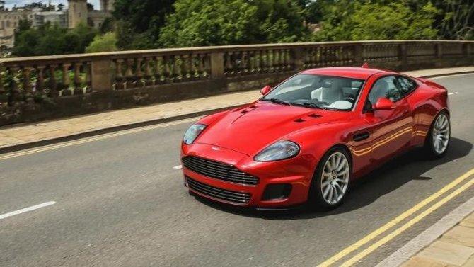 Aston Martin Vanquish прошёл рестайлинг