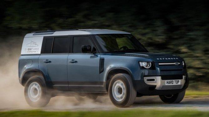 Land Rover Defender станет LCV