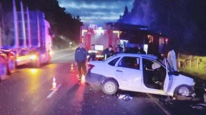 Молодой водитель погиб в ДТП в Лужском районе Ленобласти