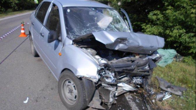 Два человека погибли в ДТП в Тамбовской области