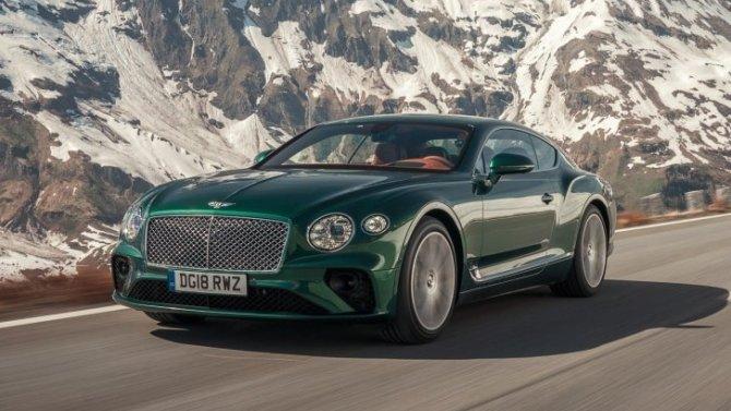 Bentley ContinentalGT обзавёлся новым оснащением