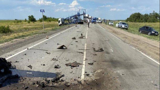 Семья попала в ДТП под Волгоградом – отец погиб