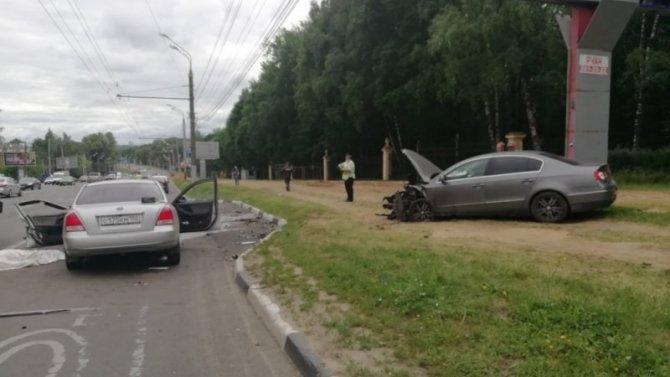 В ДТП на Гагарина в Нижнем Новгороде погиб человек