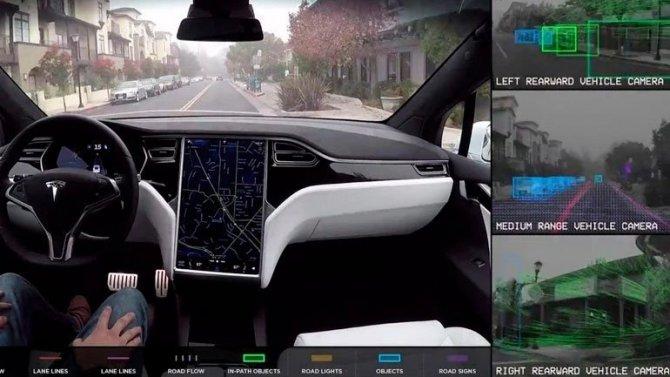 Электромобили Tesla получат обновлённые автопилоты