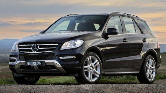 Mercedes M-class