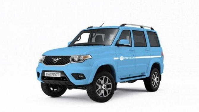 УАЗ подготовил партию служебных машин для холдинга «Россети»