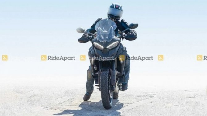 Началось тестирование обновлённого Ducati Multistrada V4