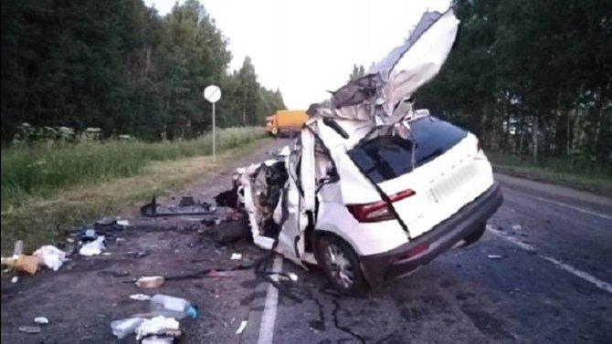 Водитель иномарки погиб в ДТП в Удмуртии