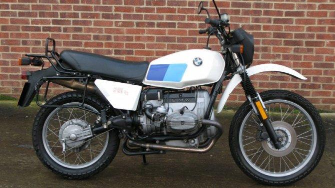 Представлена особая серия мотоциклов BMW GS