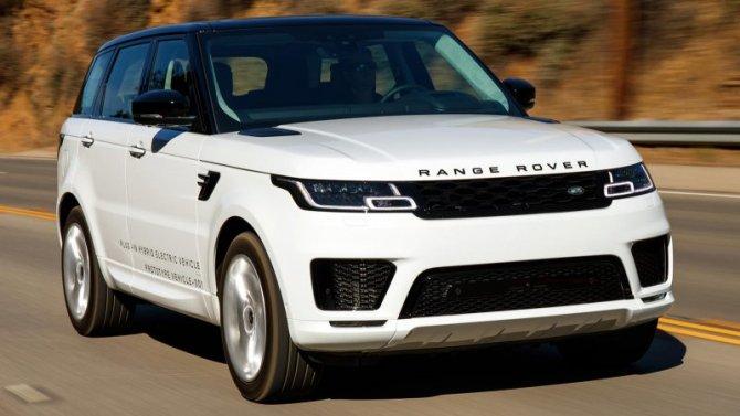 Range Rover получил гибридную силовую установку