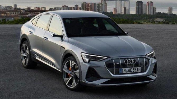 Audi e-Тron Sportback получил приз забезопасность