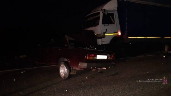 В ДТП в Волгоградской области погиб человек