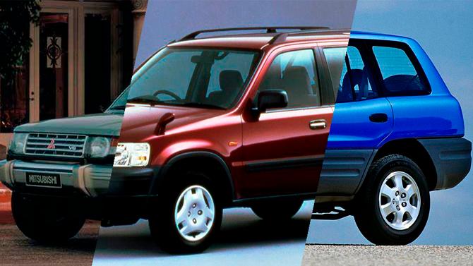 Топ-3 недорогих SUV сполным приводом, доступных только навторичном рынке
