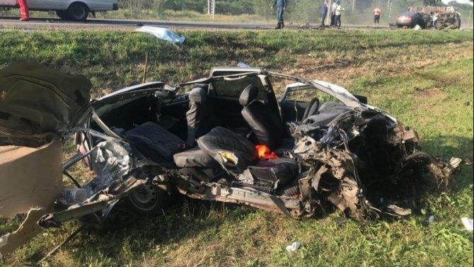 Водитель «Лады» погиб в ДТП в Тихорецком районе