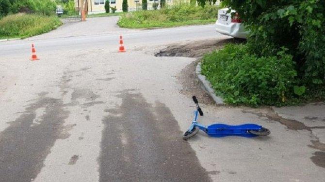 В Тверской области автомобиль сбил 5-летнего мальчика