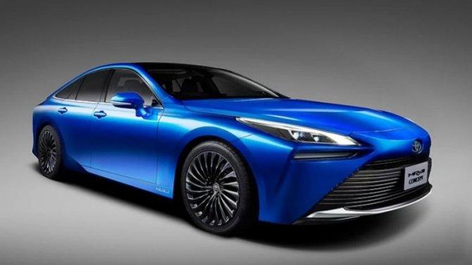 Новая Toyota Mirai готовится кпрезентации