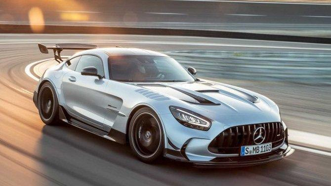 Представлен новый Mercedes-AMGGT Black Series