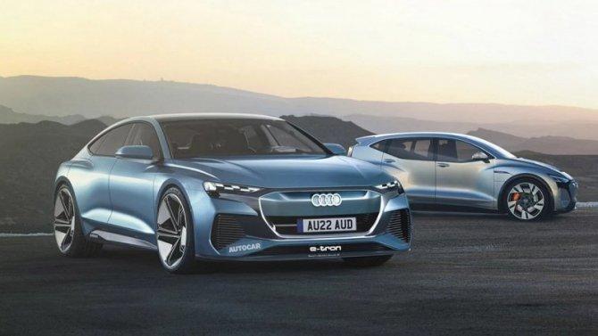 Через три года Audi представит новый электромобиль
