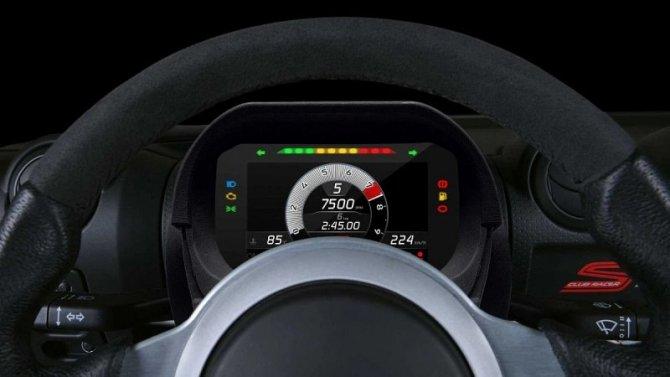 Lotus представил цифровую «приборку» для своих старых моделей
