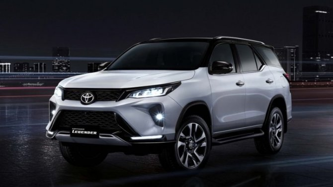 ВРоссии сертифицированы две рестайлинговые модели Toyota