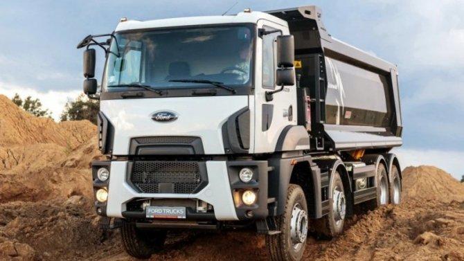 В России представлен самосвал Ford Cargo