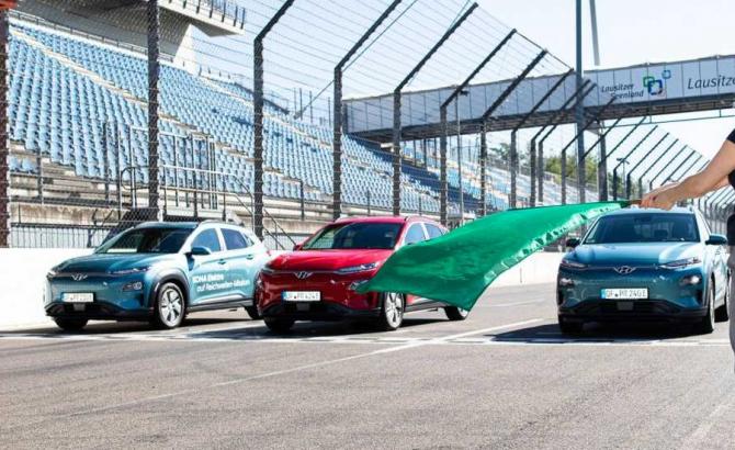 Hyundai Kona Electric испытания