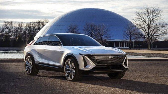 Представлен электрокроссовер Cadillac Lyriq
