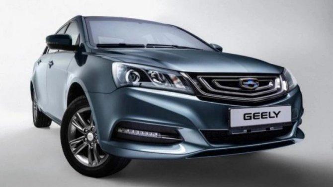 Прекращены российские продажи седана Emgrand 7