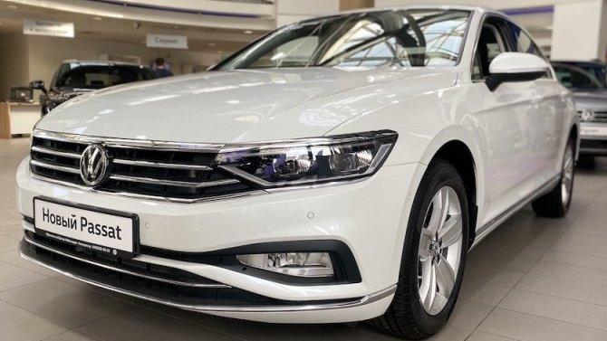 Самое время присмотреть себе новый Volkswagen Passat!