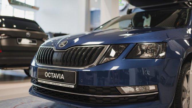 Три модели ŠKODA вошли в десятку популярных европейских машин в РФ
