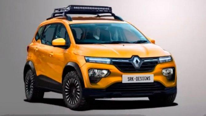 Renault Triber может стать внедорожником
