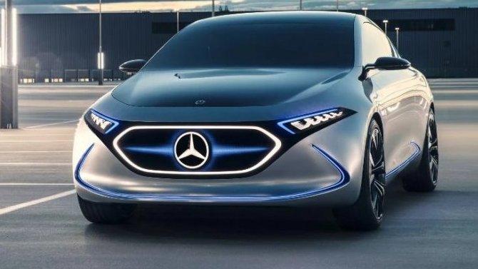 Mercedes-Benz EQA готовится к премьере