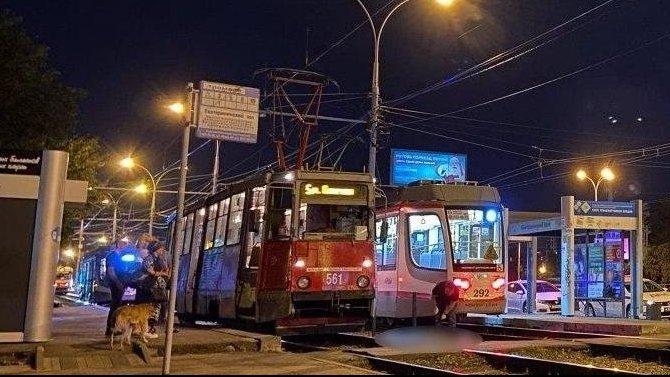 В Краснодаре трамвай насмерть сбил мужчину