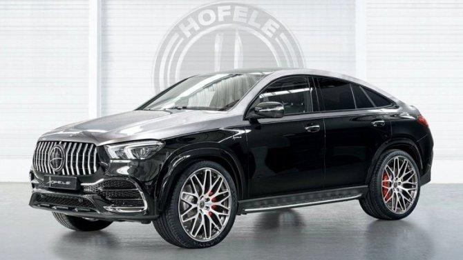 Mercedes-Benz GLE Coupe стал настоящим «стилягой»