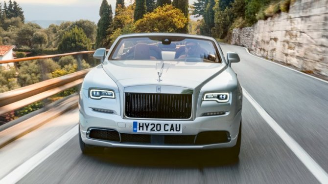 Представлен кабриолет Rolls-Royce Dawn висполнении Silver Bullet