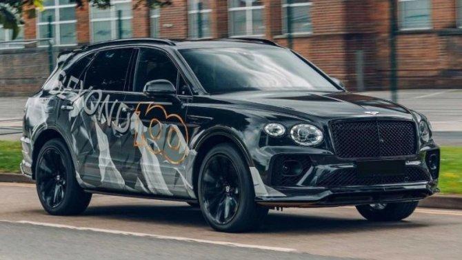 Обновлённый Bentley Bentayga получил «заряженную» модификацию