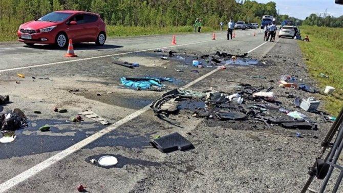 Ребенок погиб в ДТП на трассе«Тюмень– Ханты-Мансийск»