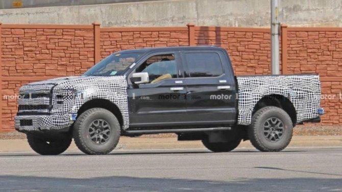 Новый Ford Raptor появится вследующем году